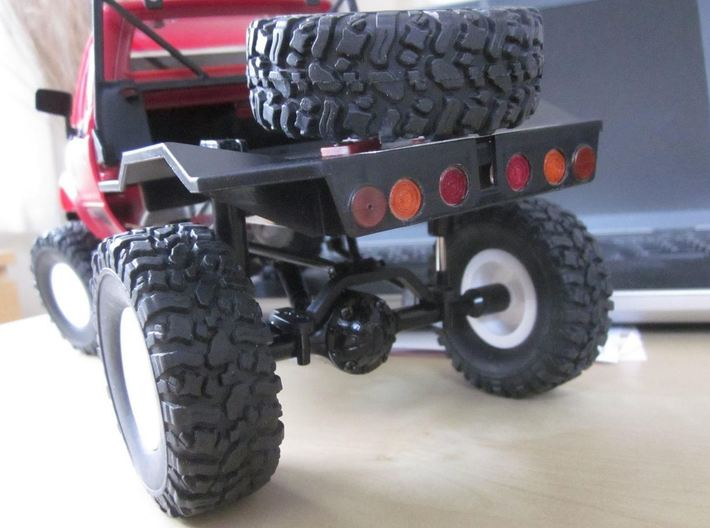 Tail light for WPL C14 Toyota Hilux Crawler 1/16 3d printed