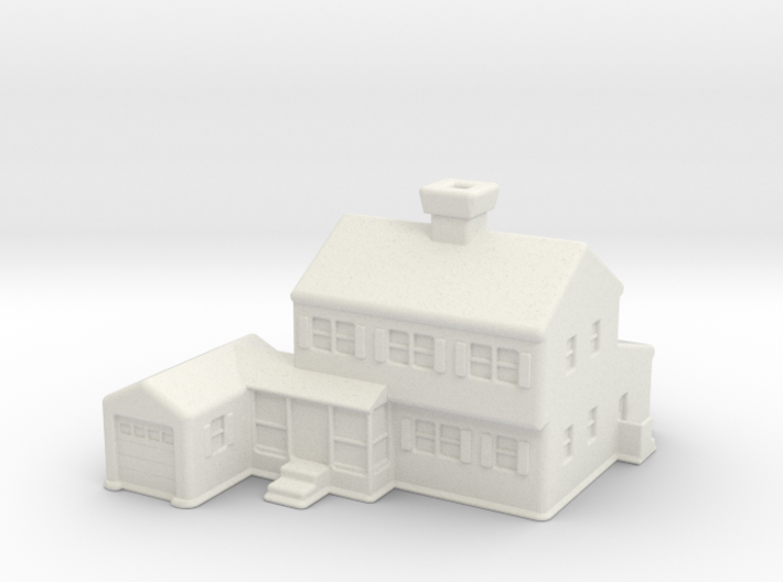 Glen_Christmas_Village_House 3d printed