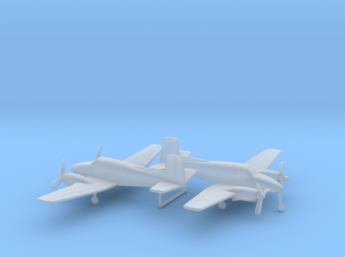 Beechcraft Model 50 Twin Bonanza 3d printed