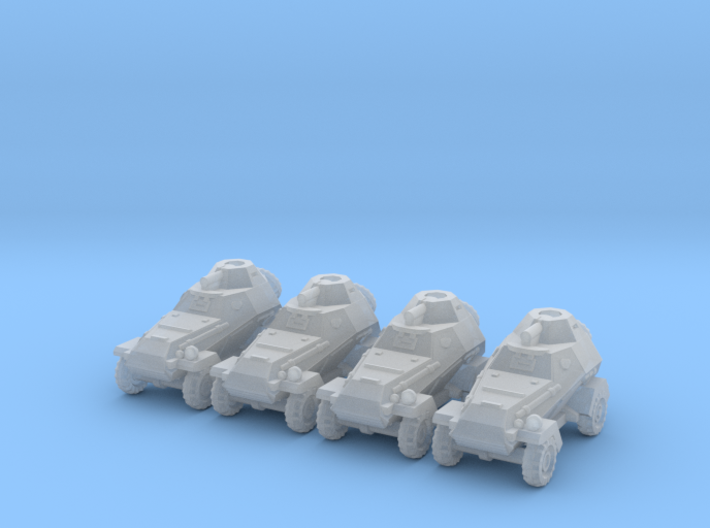 6mm BA-64 armored cars (4) 3d printed