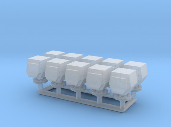 10 ventilation heads_typ2 - 10 Lüfterköpfe 3d printed
