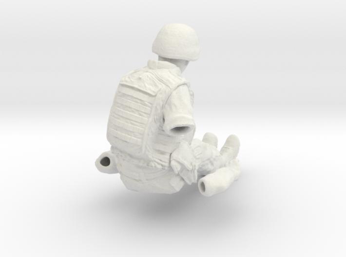 1/18 Left Artyman for ZU-23-2 AA Gun 3d printed