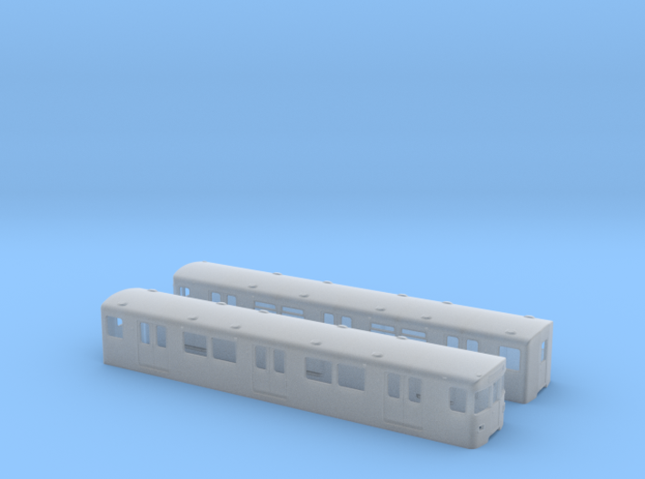 Berlin Baureihe F79  H0 [2x body] 3d printed
