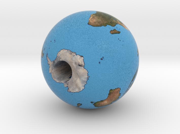 Very light earth 3d printed