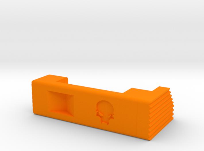 MSK extended mag release (left) 3d printed