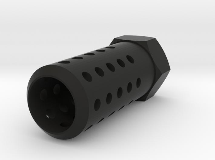 HMP Flash Suppressor (14mm-) 3d printed