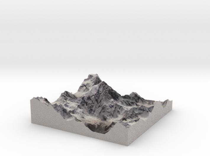 """K2 / Mount Godwin-Austen: 6"""" 3d printed"""