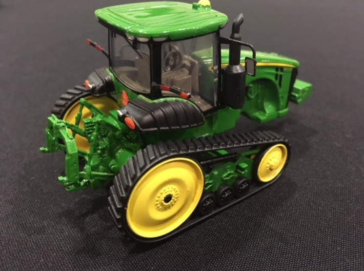"""V3-GREEN TRACK 72-120"""" ROW CROP KIT, WIDE WHEELS 3d printed Shown with narrow rollers and drivers.  This kit has wide rollers and drivers only."""