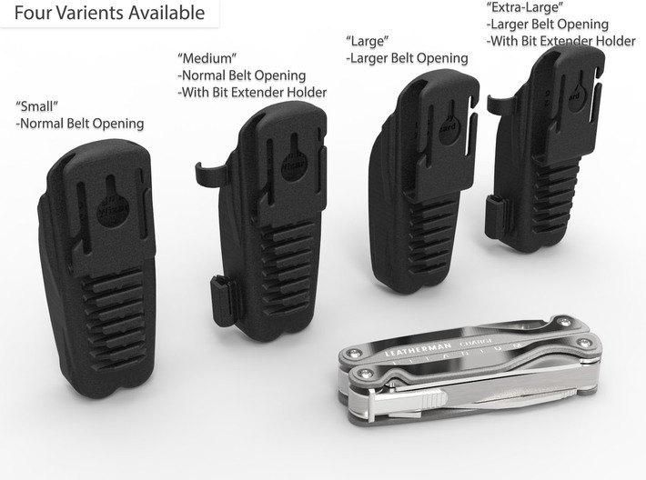 Holster for Leatherman Charge+ TTI, Closed Loop 3d printed