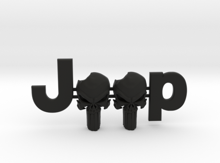 #CuzitsCustom 3D Punisher Skulls OEM Font 3d printed