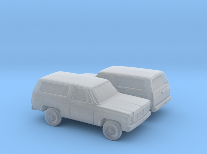 1/160 2X 1973-79 GMC Jimmy 3d printed