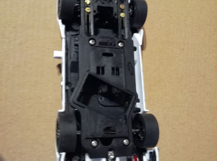 Adap. Carrera M4 DTM Slot.it HRS-2 Chassis 3d printed
