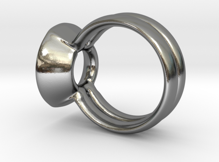 The UP Ring by CREATURE DESIGNS 3d printed