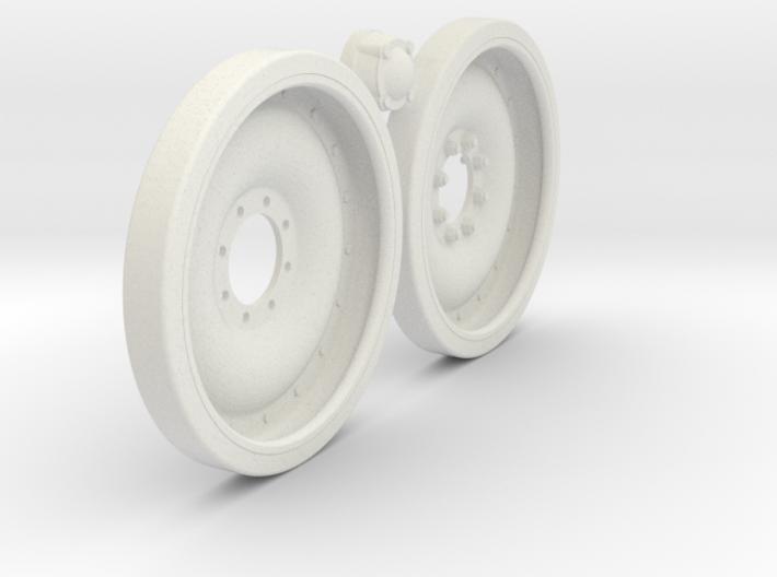 1/6 M113 APC 24x3 Road Wheel Set002 3d printed