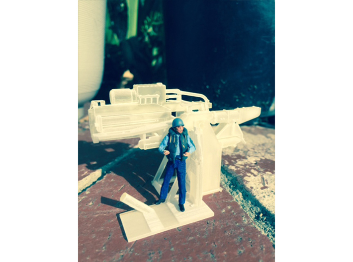 1/48 USN 5 inch Loading Machine Starboard 3d printed