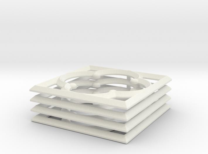 Quatrefoil 28mm MDF Building Accessory 3d printed