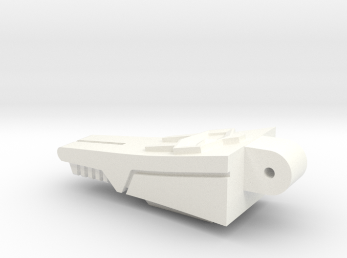 Back Spike Thruster for TR Galvatron 3d printed