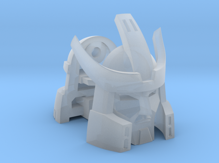 Alternate Head (2.0) for Titans Return Galvatron 3d printed