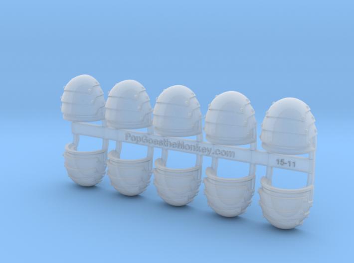 Blank - G1:b Shoulder Pads x10 3d printed