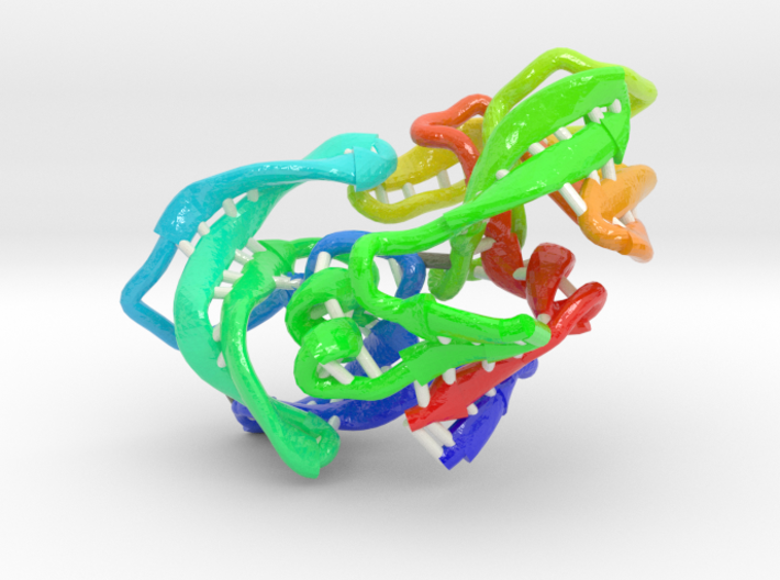 HIV Protease 3d printed