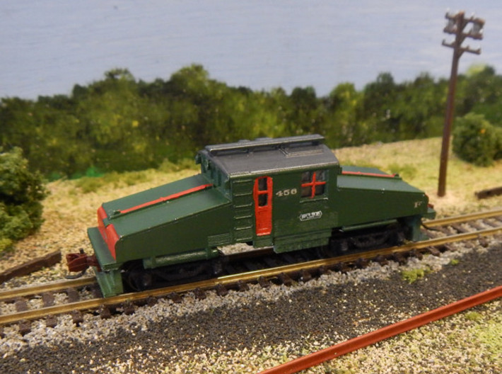 CNSM Battery Loco 455 - 456 3d printed Paint and decals by David M