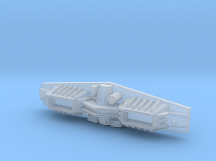 1/537 Torpedo Launcher 3d printed