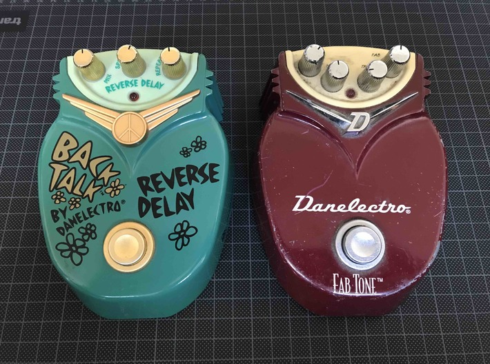 Danelectro Effect Pedal DC Bridge 3d printed