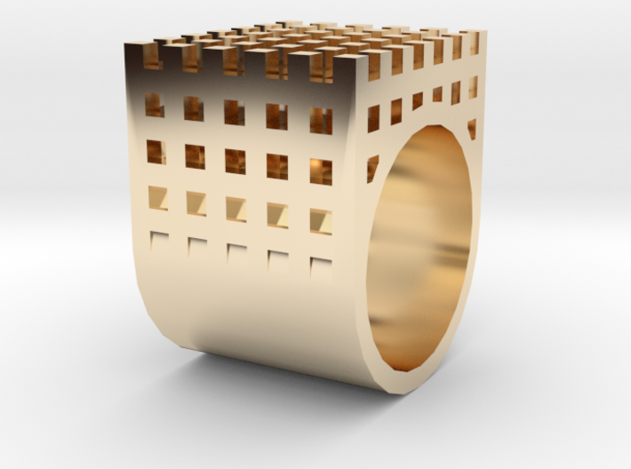 kengo kuma ring 3d printed