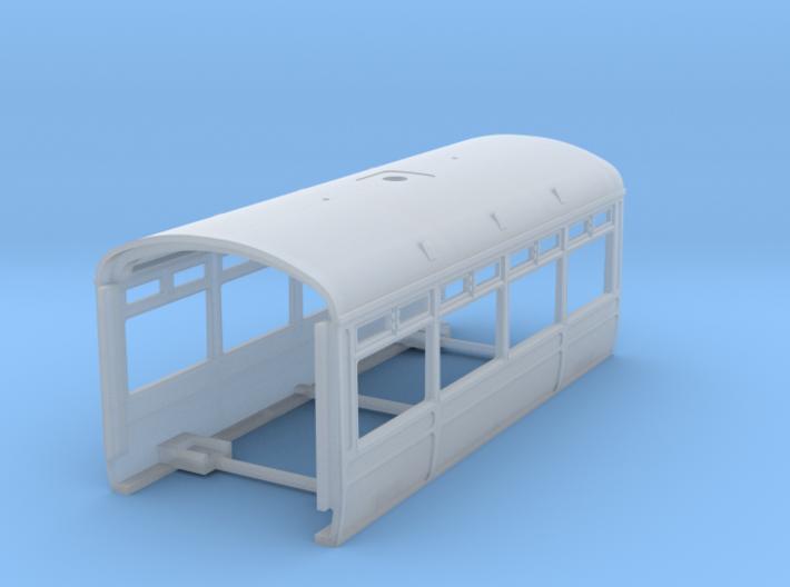 LNWR Body B, OO 3d printed