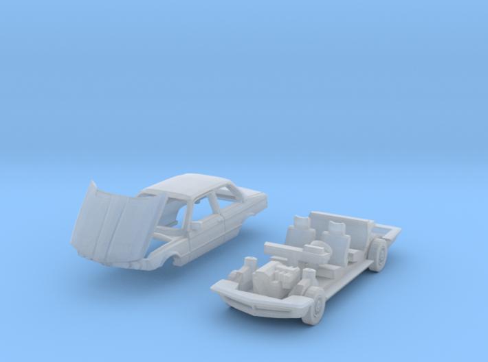 Car breakdown (N 1:160) 3d printed