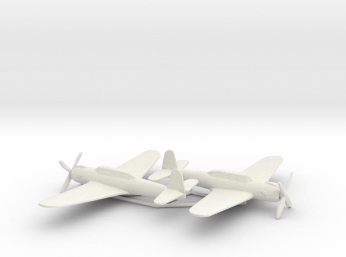 Nakajima B6N2 1:200 x2 (w/o landing gears) 3d printed