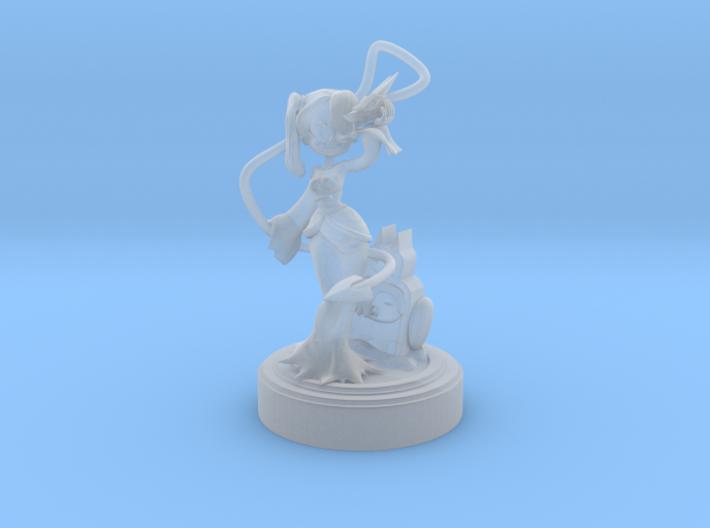 Skullgirls FanArt - Squigly 3d printed