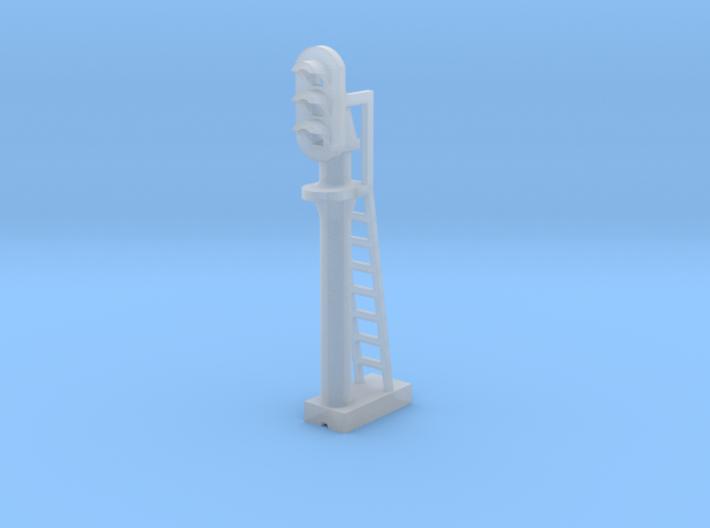Block Signal 3 Light - N 160:1 Scale 3d printed