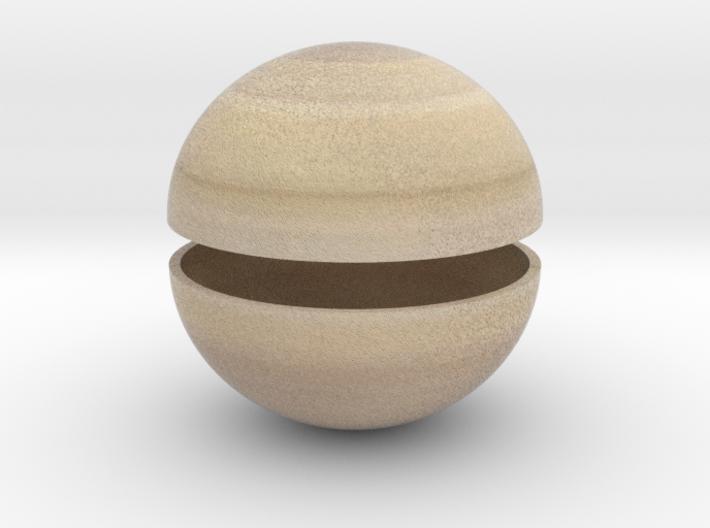 Saturn (Bifurcated) 3d printed