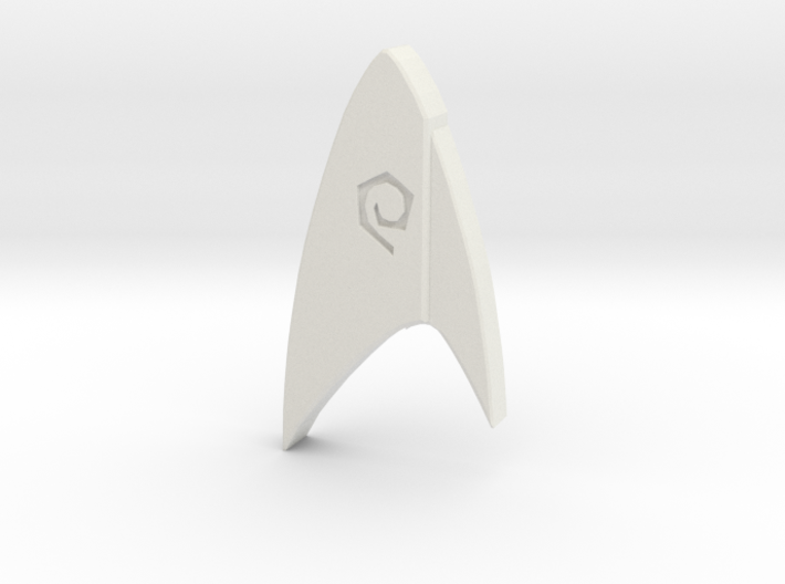 Star Trek Discovery Operations badge 3d printed