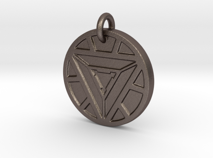 Marvel iron man arc reactor pendant myzan5y8k by ninjanutmeg marvel iron man arc reactor pendant 3d printed aloadofball Image collections
