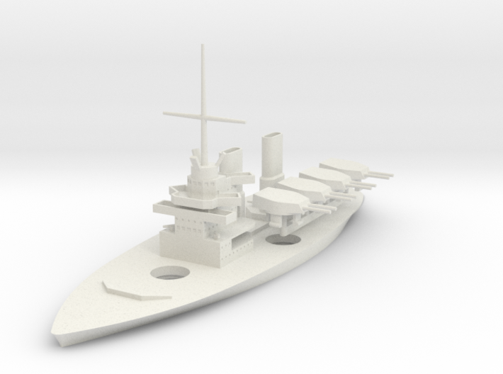 1/700 Enforcer-Class River Dreadnought 3d printed