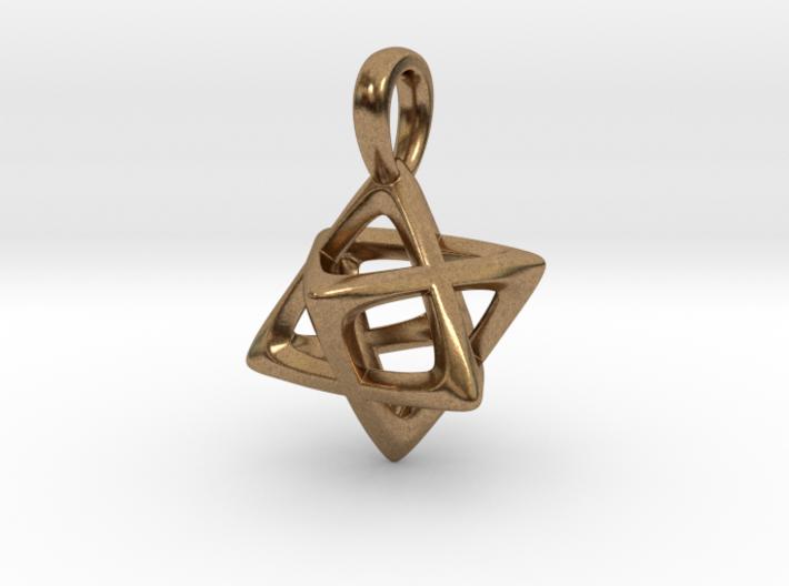 Star Tetrahedron (Merkaba) Pendant 3d printed