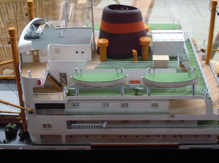 1:1250 Streefkerk VNS 3d printed 1:100 Model Museum Rotterdam