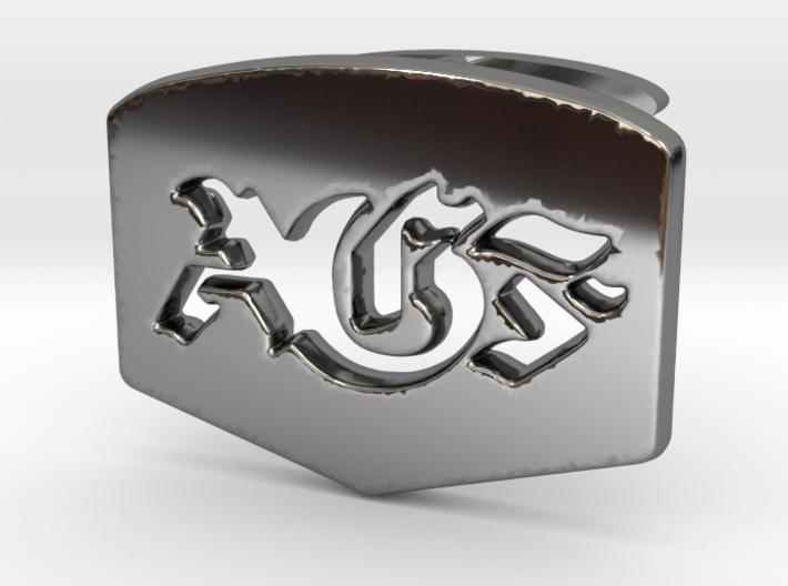 AGF cufflinks 3d printed
