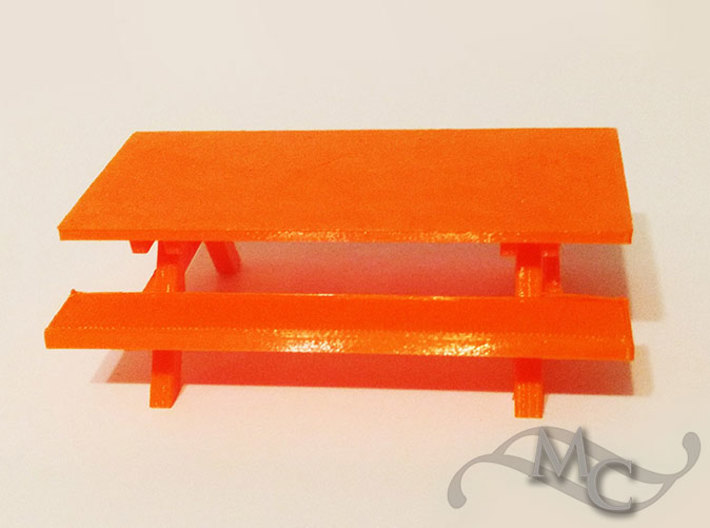 Little Picnic Table 3d printed