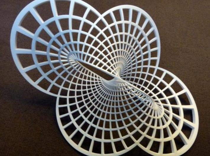 Round Möbius Strip (Very Large) 3d printed
