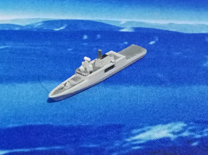 ORP Ślązak (2015), 1/1800 3d printed Painted Sample