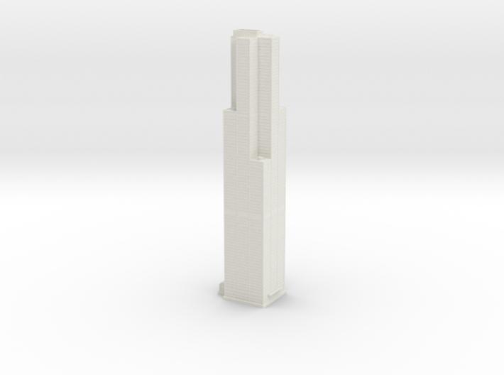 Willis Tower (1:2000) 3d printed