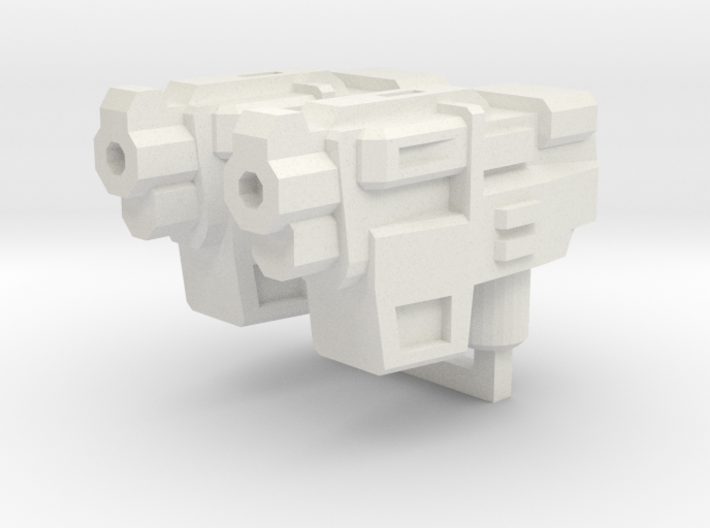 """""""HAMMER-7"""" Transformers Weapons (5mm post) 3d printed"""