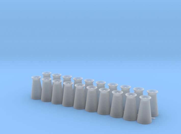 17 Gallon (65 L) Conical Milk Churn Variant 1 3d printed