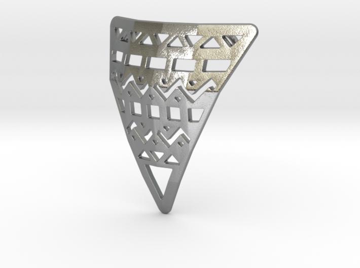 Aztec Pendant 3d printed