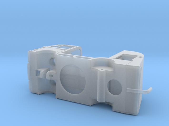 DAF A10 FireTruck 3d printed