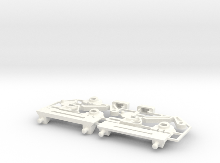 Lancia Delta rep. set FULL Instrument frame 3d printed