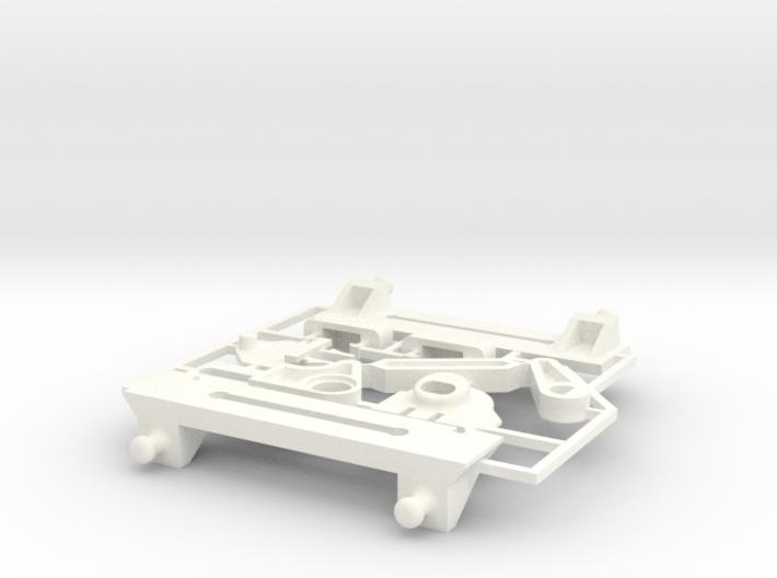 Lancia Delta rep. set VAR2 Instrument frame 3d printed
